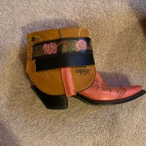 Lucchese Shoes - Lucchese Custom Cowboy Boots Size 8